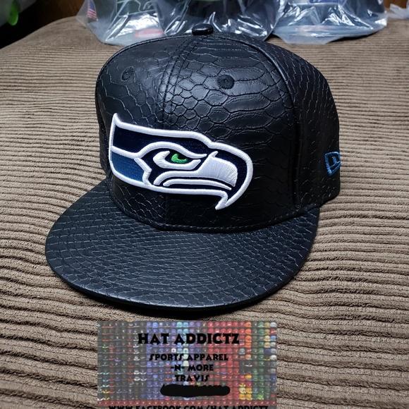 f5b990d5d97 Seattle Seahawks New Era 9fifty snapback hat. M 5b90b2e63e0caae9b91e6b30